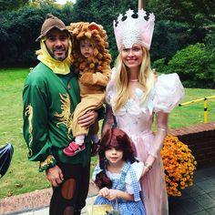 Dorothy & Friends (aka Jimmie Johnson family) on Halloween 2015.