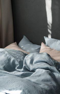 Linen Bedding via Etsy