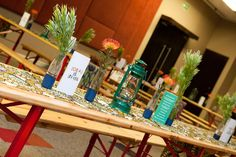 Discover.Craft.Move.Be Indaba - Local is Lekker Room - Table Decor by WrxGrp