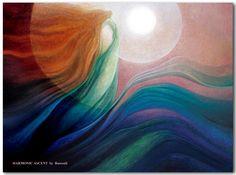 Harmonic Ascent by visionary artist Rassouli at AvatarFineArts