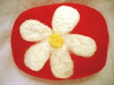 Felted Soap  Crazy Daisy Edition by PoofNoggin on Etsy, $10.00 My new favorite shop on etsy. SO cute such talent!