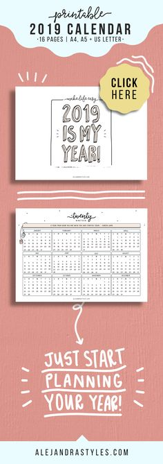 OMG! Download this FREE Printable Planner and watch the DIY Tutorial