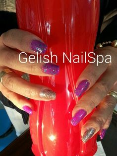 Gelish you glare, I glow con candy shop