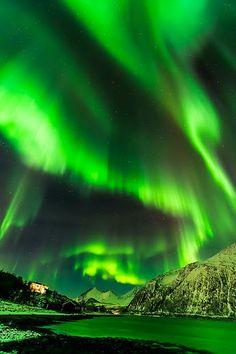 Northern Lights . Tromsø, Norway