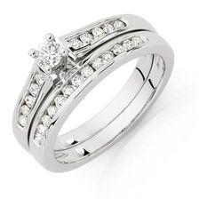 1/2 CARAT TW DIAMOND BRIDAL SET