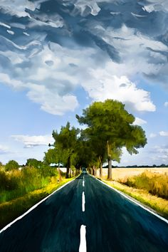 Road in Eiche by solemone, via Flickr