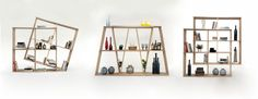 X2 bookshelf design by Laurindo Marta for WEWOOD