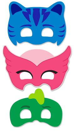 PJ Masks Printable Masks Ready to download, print, and assemble. Available for instant download, a PDF with each character mask, ready to print. *****this is a digital download for you to print and assemble at home**** - - - - - - - - - - - - - - - - - - - - - - - - - - - - - - - - -