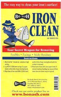 BoNash IRON CLEAN