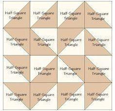 Quilt Block Patterns 12 Inch, Quilt Square Patterns, Barn Quilt Patterns, Star Quilt Blocks, Star Quilts, Pattern Blocks, Square Quilt, Motifs Granny Square, Half Square Triangle Quilts Pattern