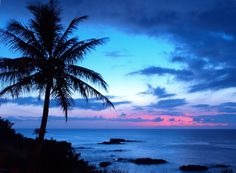 Sunset in Hawaii <3