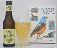 "Grisette - Grisette (brasserie St Feuillien - Belgique) -  grâce à ""BelgiBeer.fr"" : https://www.belgibeer.fr/Box-Biere-Belge/refer_id=846 -"