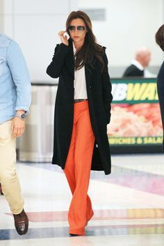 Victoria Beckham touches down in NYC