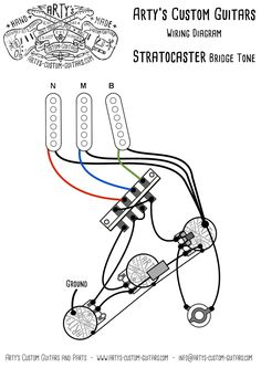 27 best wiring diagram guitar kit images on pinterest custom artys custom guitars bridge tone vintage pre wired prewired kit wiring assembly harness artys strat asfbconference2016 Image collections