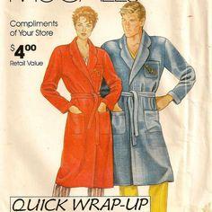 Classic Wrap Robe Pattern for Men & Women  by twobuckpatterntruck, $2.00