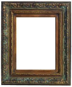 Available in both plain and ornate finishes, dark gold frames are a classic way to present many kinds of artwork. Browse Art Gallery Frames here. Painted Picture Frames, Antique Picture Frames, Gold Picture Frames, Antique Frames, Vintage Frames, Gold Frames, Antique Paint, Antique Gold, Decorative Bathroom Mirrors