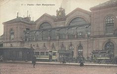 Les gares du Paris d'antan La Première gare Montparnasse