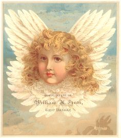 Sweetly Scrapped: Free Victorian Angel Image