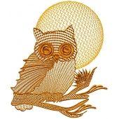 Owls Patterned