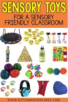 A list of my favorite sensory tools for a sensory friendly classroom. Sensory includes equipment, fidgets, stress balls, play doh and so much more! Sensory Activities For Autism, Outside Activities For Kids, Sensory Art, Sensory Tools, Social Skills Activities, Sensory Bins, Summer Activities, Family Activities, Autism Education