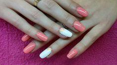 Acrylic nails with nailart