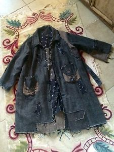 Authentic One of A Kind Magnolia Pearl Wool Patchwork Coat | eBay