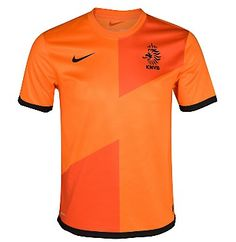 Holland Euro 2012 Nike Home Soccer Jersey