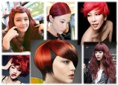 #Red #Hair #Color Chart.