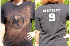 DIY Hunger Games Shirts -fun and easy