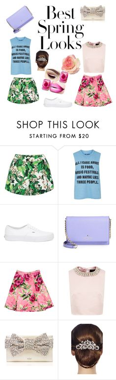"""""""Untitled #177"""" by feedbacker1 ❤ liked on Polyvore featuring H&M, Topshop, Vans, Kate Spade, Love Moschino, Ted Baker and 16 Braunton"""