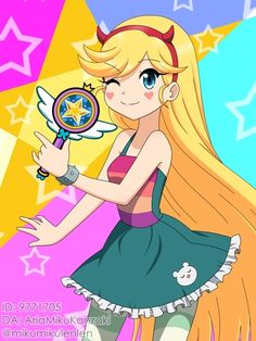 Mahou Princess: Star Butterfly by AriaMikuKanzaki Foto Cartoon, Girl Cartoon, Cartoon Art, Star Butterfly Anime, Butterfly Art, Starco Comics, Bd Art, Star Y Marco, Princess Star