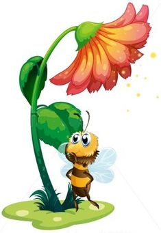 Planse de colorat si fise pentru copii: aprilie 2014 Maya, Disney Characters, Fictional Characters, Bee, Cartoon Butterfly, Google, Bees, Ladybug, Honey Bees