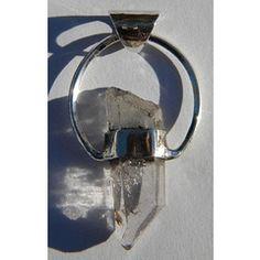 31.59ct DASHING!!! Natural  Quartz  Silver  Pendant ~ NR!!! for R1.00