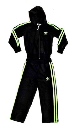 boys Girls Toddlers tracksuit Adidas 104-110 Lovely Black + Bright Green Detail Adidas Tracksuit, Click Photo, Boots For Sale, Bright Green, Boys Shoes, Toddler Girl, Boy Or Girl, Toddlers, Detail