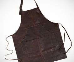 Leather Work Apron on http://www.gearculture.com