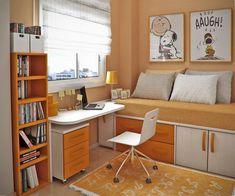 Small Teen Study Room Ideas