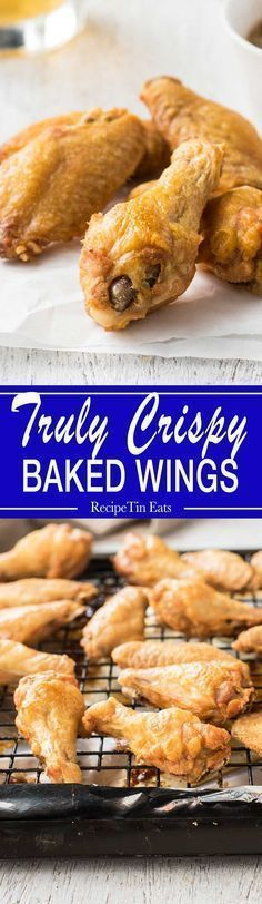 I NEVER make wings any other way, these are incredible!!! They seriously come out sooooooooo CRISPY!!!