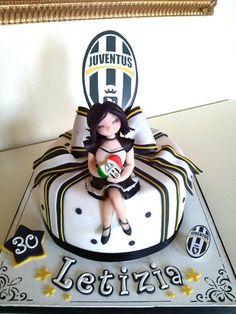 Juventus Girl Cake