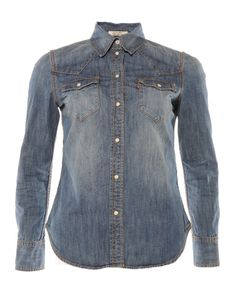 Clothing, Gifts and Accessories for Men and Women Denim Button Up, Button Up Shirts, Denim Shirt, Long Sleeve, Sleeves, Jackets, Clothes, Tops, Women