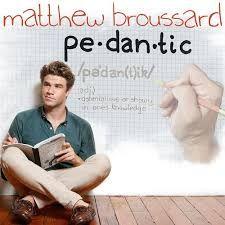 「pedantic」学者ぶる