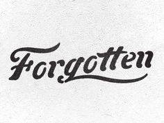 Forgotten  by Colin Miller