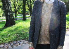 tweed + metallic