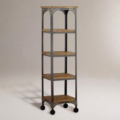 And this, to go with the console table. Gorgeous. Aiden Étagère