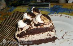 Banános csokis torta recept fotóval