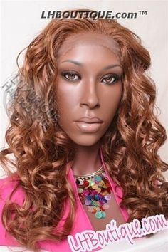 Champagne Front & Back Lace Wig Molly - Lhboutique.com  #SyntheticWig #LaceFrontWigs #wigs #lacewig Synthetic Lace Front Wigs, Synthetic Wigs, Human Hair Lace Wigs, Wigs For Black Women, Beauty Supply, Natural Looks, Virgin Hair, Wig Hairstyles, Champagne