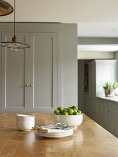 The Old Rectory, Suffolk | Humphrey Munson Kitchens | #grey #painted #country…