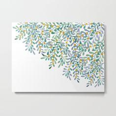 Mistletoe watercolor n.1