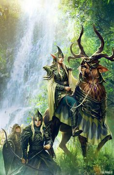 Middle Earth the passing of the Elves