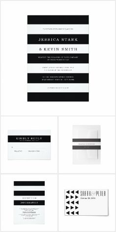 Black & White Wedding #BlackAndWhite#Wedding