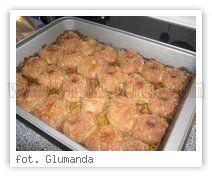 Kotleciki mielone pieczone w piekarniku.